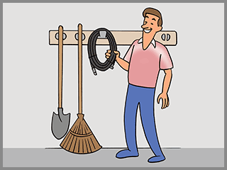 How do I maintain and store the sewer jetter