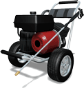 Commercial Gas Pressure Washer