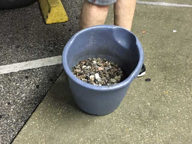 Sewer Jetter Laundry Coins