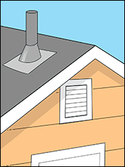 How Do I Unclog a Roof Vent